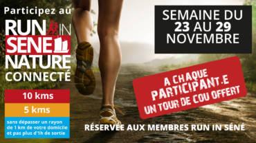Participez au Run In Séné Connecté